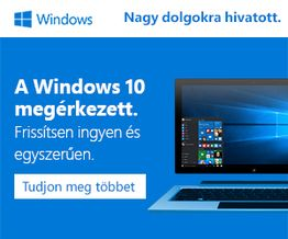 A Windows 10 meg�rkezett.